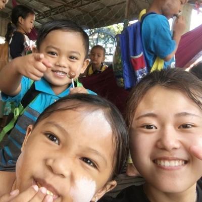 カンボジアでチャイルドケア 中野琴星